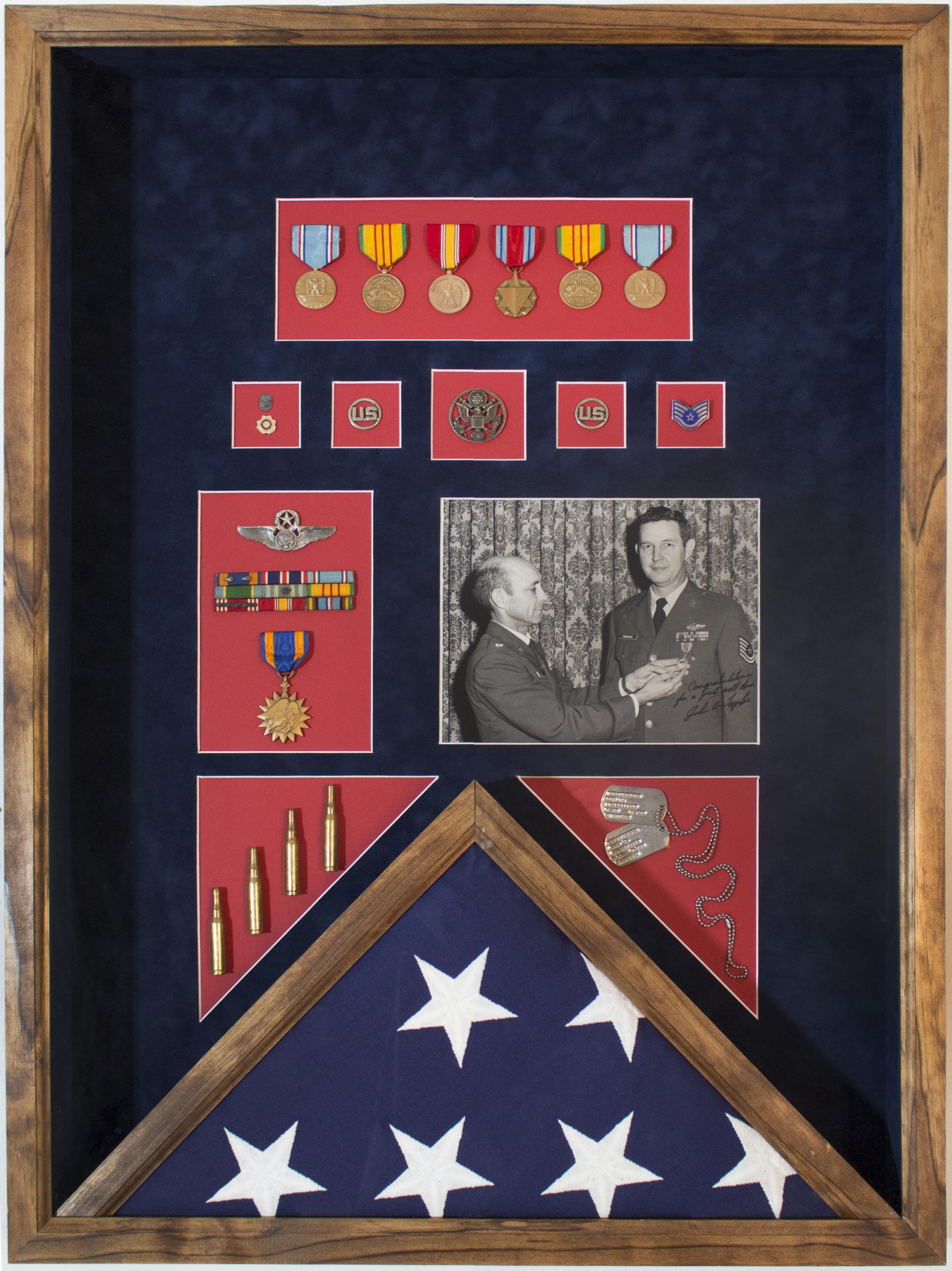 Military Flag Shadowbox