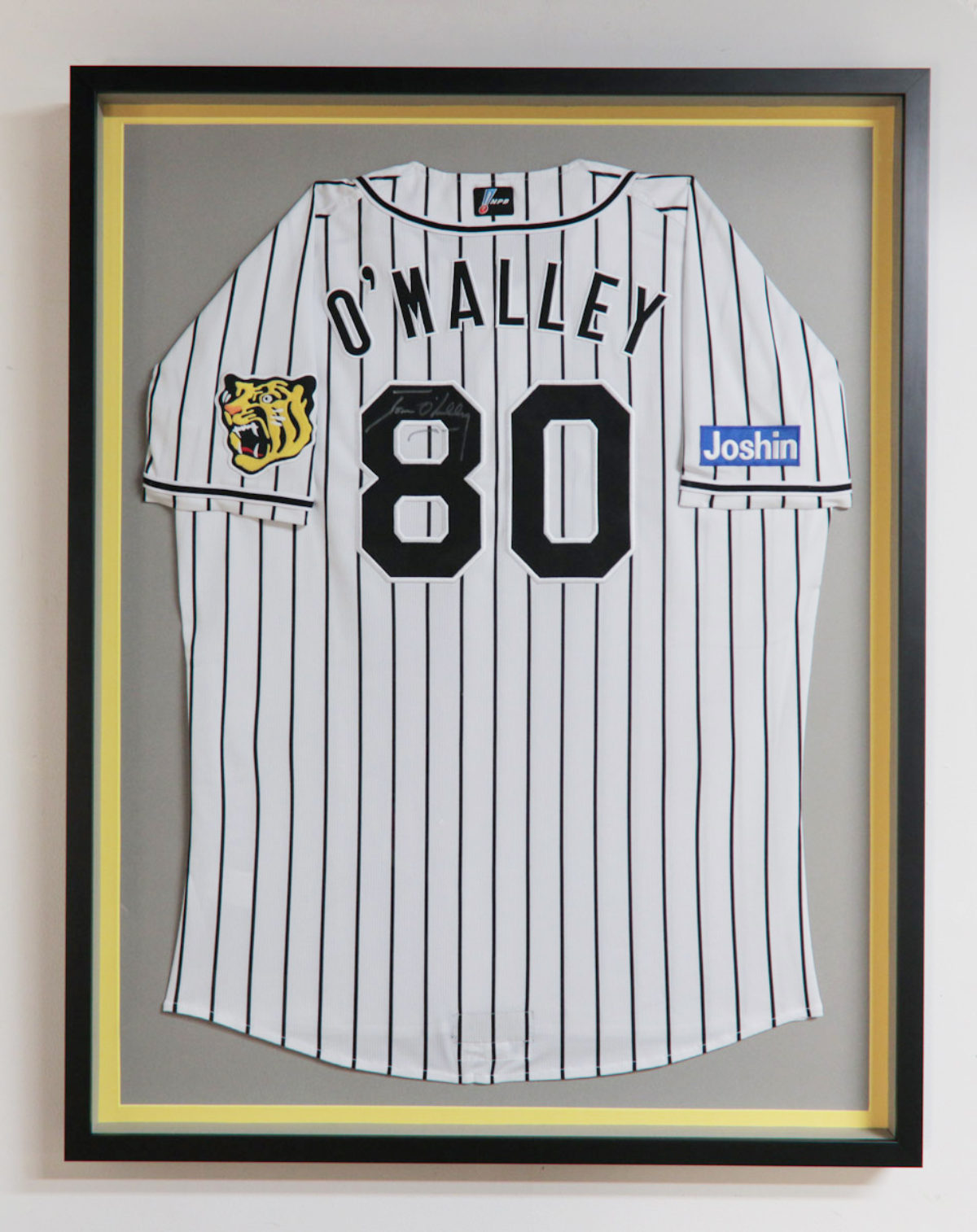 Jersey Shadowbox - Frame It Here
