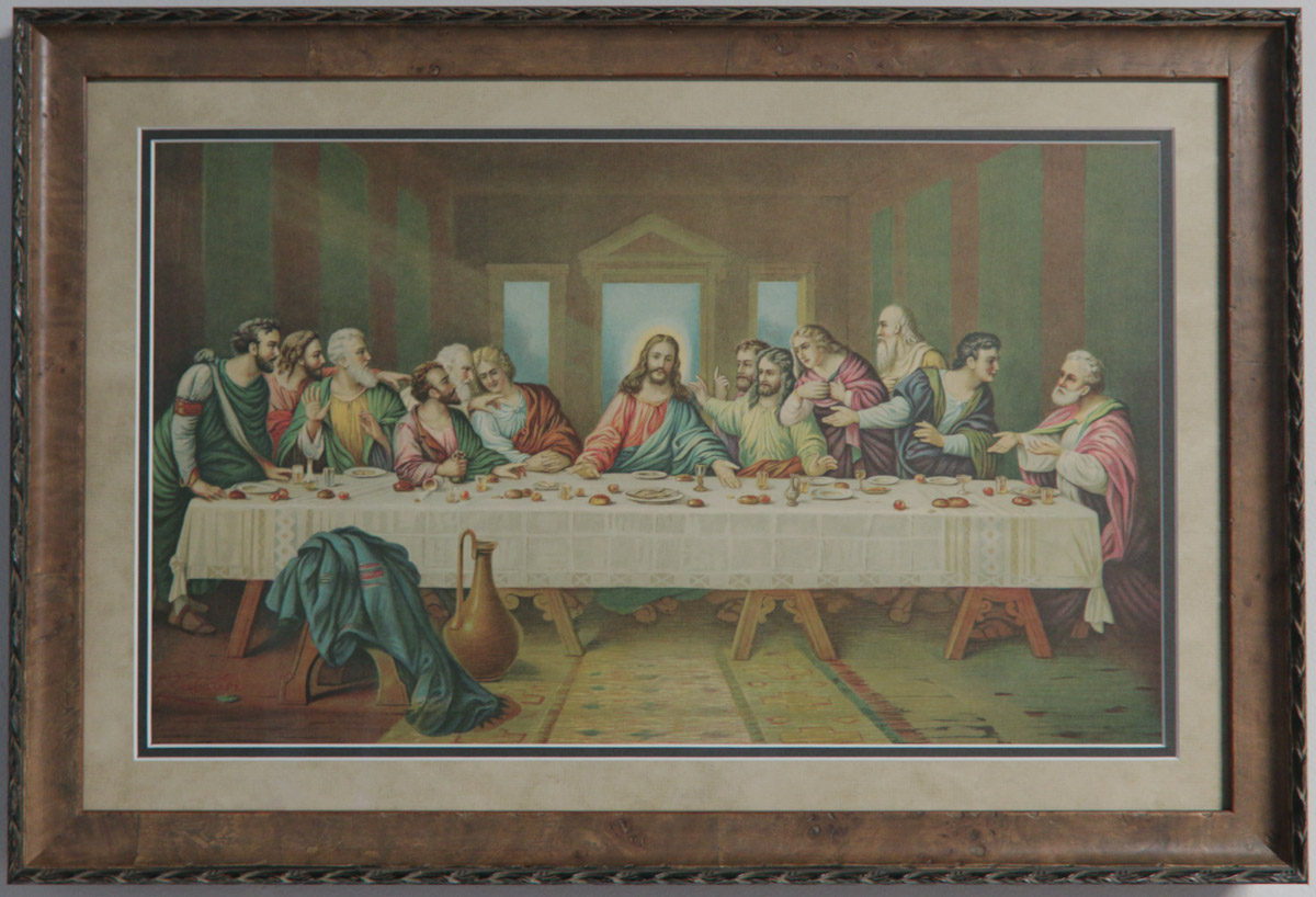 The Last Supper - Frame It Here