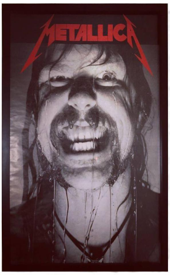 Vintage Metallica Poster