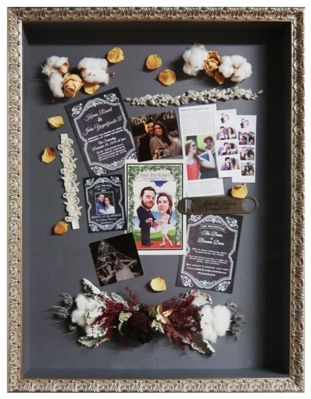 Wedding Shadowbox - Frame It Here